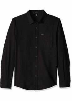 Volcom Men's Caden Solid Long Sleeve Shirt