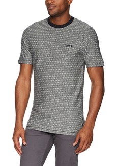Volcom Men's Chadwell Crew Neck Short Sleeve Knit Shirt  XS