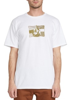 Volcom Men's Cradeled Logo Graphic T-Shirt