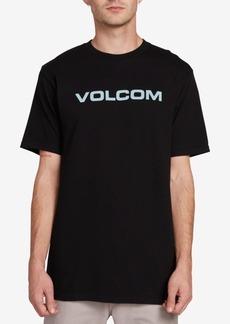 Volcom Men's Crisp Euro Logo-Print T-Shirt