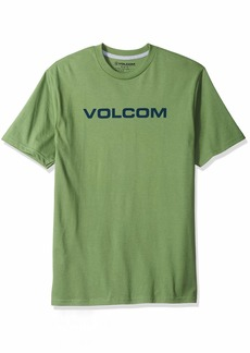 Volcom Men's Crisp Euro Short Sleeve Basic Fit Tee