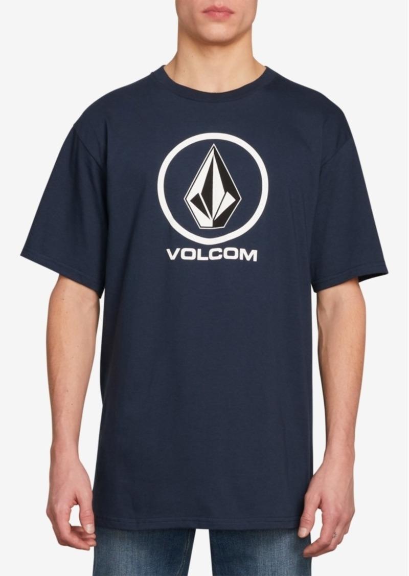Volcom Men's Crisp Stone Logo T-Shirt