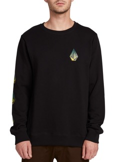Volcom Men's Deadly Stone Logo Sweatshirt
