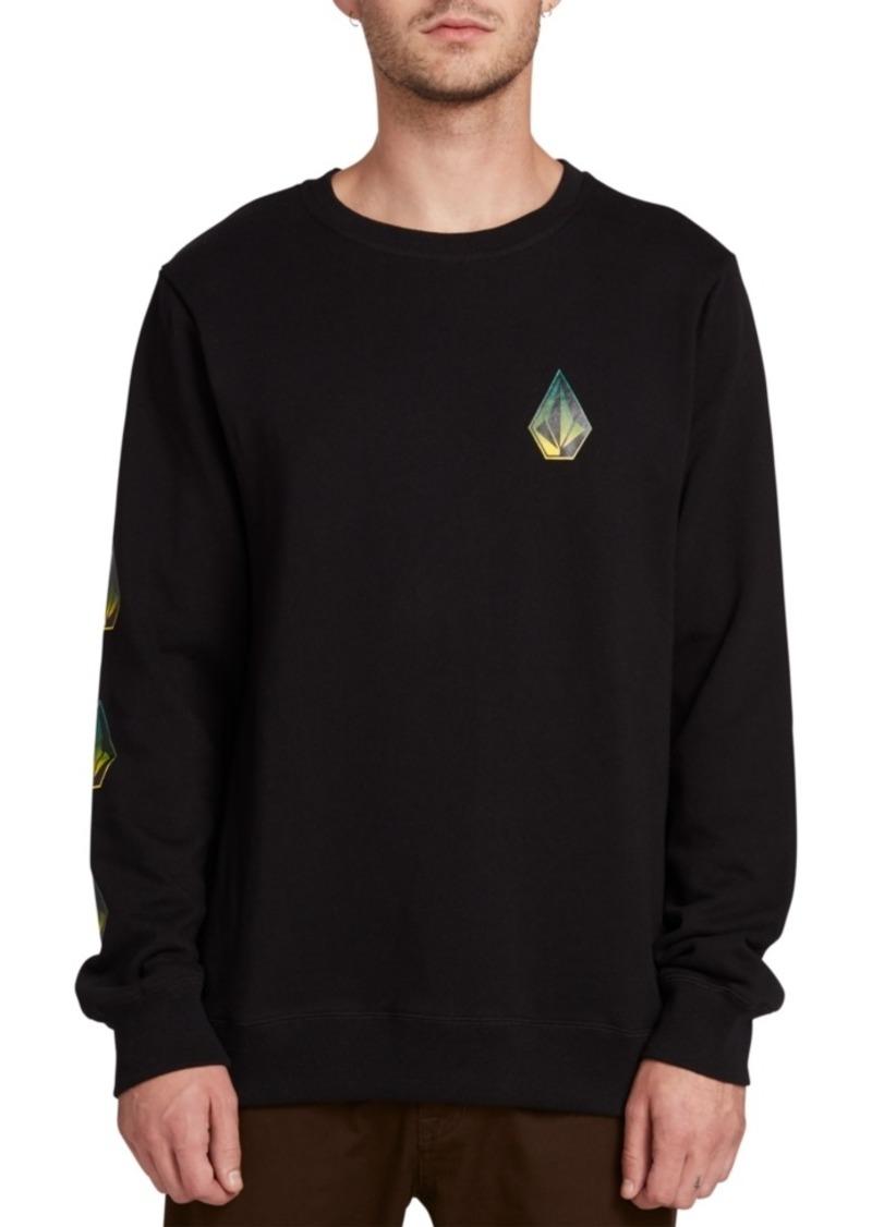 Volcom Men's Deadly Stone Logo Sweatshirt