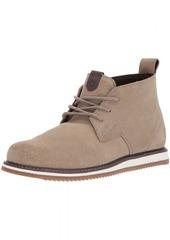 Volcom Men's Del Coasta Suede Shoe Chukka Boot Oxford tan