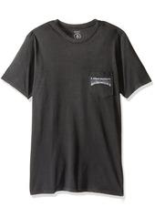 Volcom Men's Enter Short Sleeve Shirt Pocket T-Shirt
