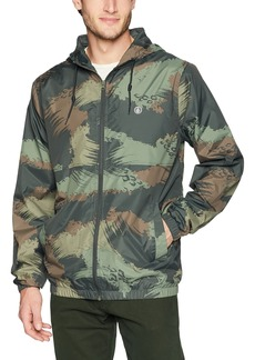 Volcom Men's Ermont Hooded Windbreaker Jacket  L