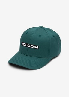 Volcom Men's Euro Mark Xfit FlexFit Baseball Cap