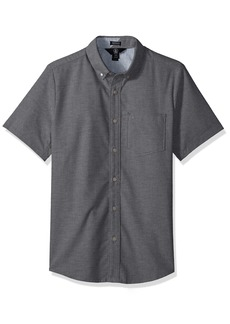 Volcom Men's Everett Oxford Short Sleeve Shirt  XL