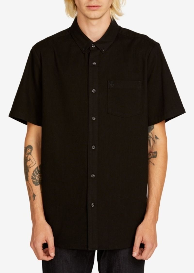 Volcom Men's Everett Short-Sleeve Oxford Shirt