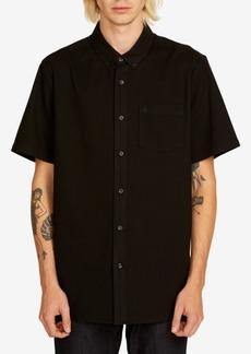 Volcom Men's Everett Short-Sleeve Oxford Shirt