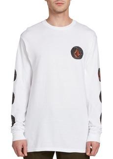 Volcom Men's Family Stones Logo Graphic T-Shirt