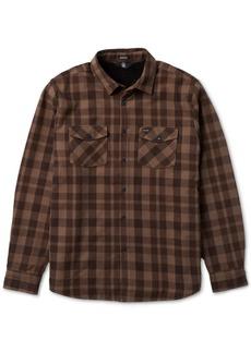 Volcom Men's Ferdinand Plaid Shirt Jacket