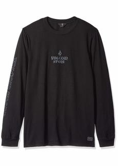 Volcom Men's Freestate Knit Crew Longsleeve Pocket Shirt  Extra Extra Large