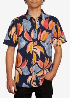 Volcom Men's Garden Floral Shirt