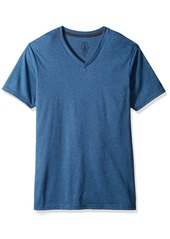 Volcom Men's Heather Short Sleeve VNck Tee