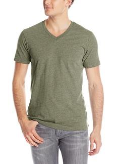 Volcom Men's Heather V-Neck Short Sleeve T-Shirt  X-Large