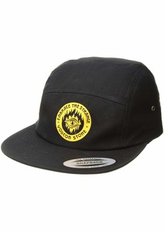 Volcom Men s Hot Visions 4 Panel Adjustable Custom Jocky Hat ONE Size FITS  All 1111542a40c6