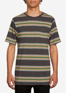 Volcom Men's Idle Crew Striped T-Shirt