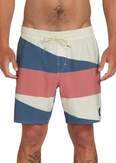 Volcom Men's Knotical Colorblocked Swim Trunks