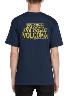 Volcom Men's Lapse Logo Graphic T-Shirt