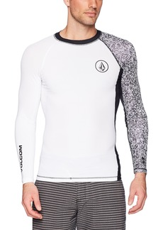 Volcom Men's Lido Block Long Sleeve Rashguard  Extra Small