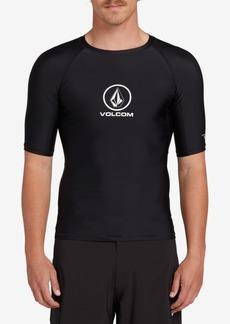 Volcom Men's Lido Solid Short Sleeved Rashguard