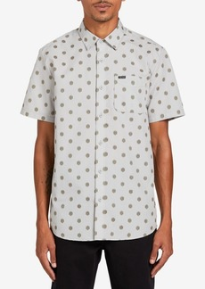 Volcom Men's Macro Dot Short Sleeve Shirt