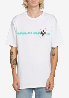 Volcom Men's Mag Sketch Logo Graphic T-Shirt