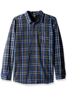 Volcom Men's Marcos Long Sleeve Flannel SMB S