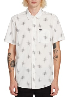 Volcom Men's Marker Fade Abstract-Print Shirt