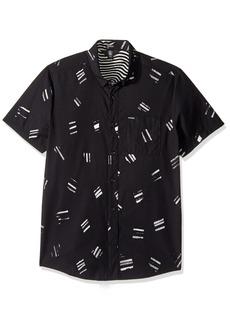Volcom Men's Micro Warp Short Sleeve Shirt  M