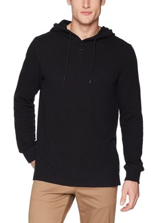Volcom Men's Murphy Long Sleeve Hooded Thermal Shirt  Extra Small