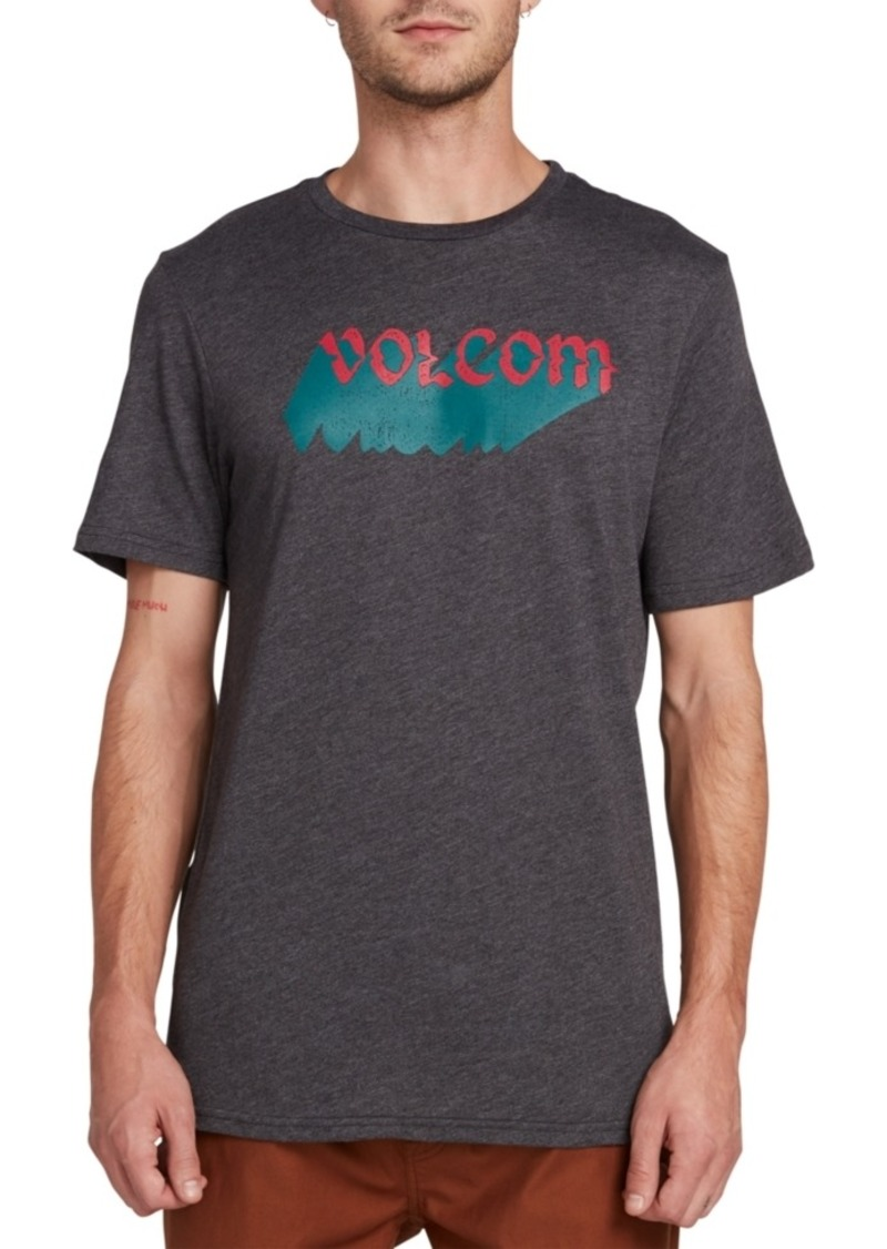 Volcom Men's Night Creep Logo Graphic T-Shirt