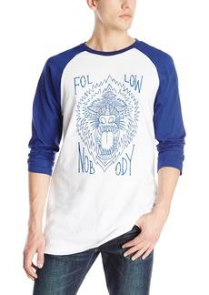 Volcom Men's Nobody 3/4 Raglan T Shirt