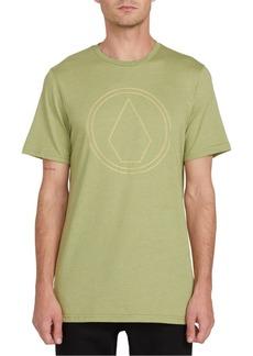 Volcom Men's Off Pin Logo T-Shirt