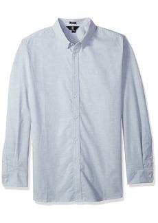 Volcom Men's Oxford Stretch Long Sleeve Button Up Shirt  L