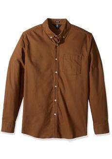 Volcom Men's Oxford Stretch Long Sleeve Shirt  S
