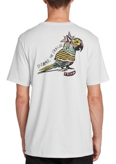 Volcom Men's Party Bird Graphic T-Shirt