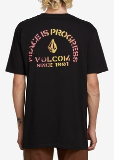 Volcom Men's Peaceisprogress Short Sleeved Tee Shirt