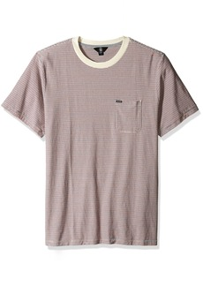 Volcom Men's Preston Short Sleeve Knit Crew Shirt  XS
