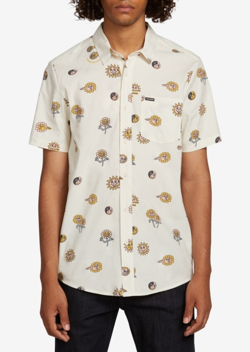 Volcom Men's Printed Shirt