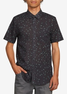 Volcom Men's Quency Dot Short-Sleeve Shirt