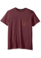 Volcom Men's Rookie Short Sleeve Shirt Pocket T-Shirt