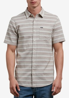 Volcom Men's Sable Stripe Pocket Shirt