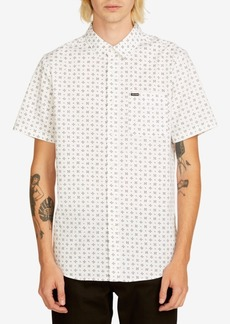 Volcom Men's Salt Dot Short Sleeve Shirt