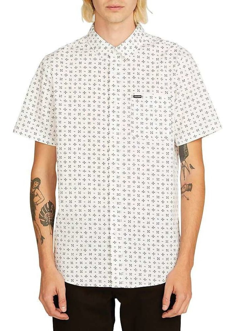 Volcom Men's Salt Dot SS Shirt