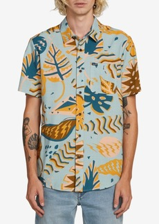 Volcom Men's Scrap Floral Woven Shirt