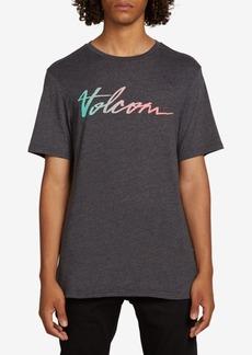 Volcom Men's Script-Logo T-Shirt