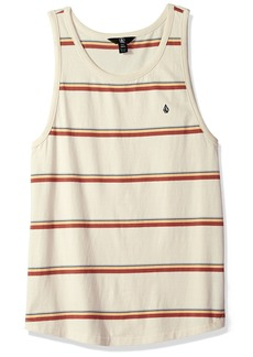 Volcom Men's Sheldon Striped Tank Top  S